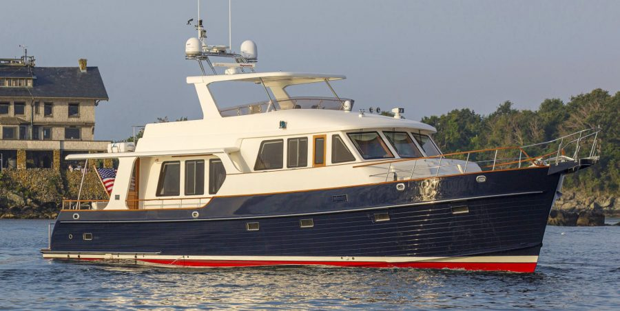 Grand Banks Motor Yacht ROPEWALK Sold