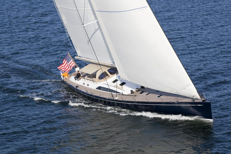 100′ (30.4m) Sailing Yacht VIRAGO Receives a Price Reduction